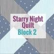 Snowflake Block 2 | Starry Night Quilt