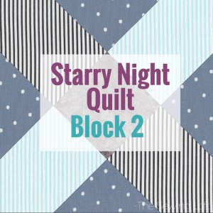 Snowflake Block 2 | Starry Night Quilt