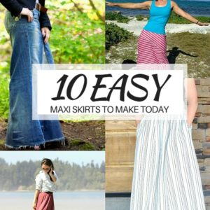 10 Maxi Skirts You Must Make for Your Closet