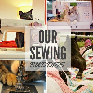Our Four-Legged Sewing Friends