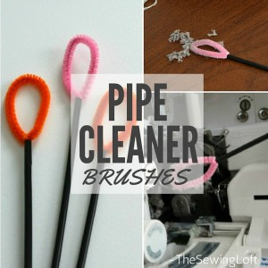 Sewing Machine Pipe Cleaner Brush