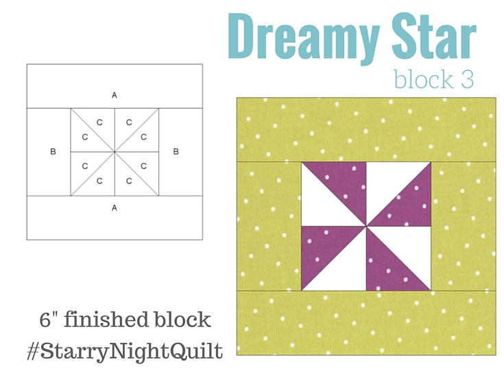 It's time for the next block in the Starry Night Quilt Sampler - the Dreamy Star Block. Come join the fun and Increase your skill set with a block of the Month sewing series on The Sewing Loft.