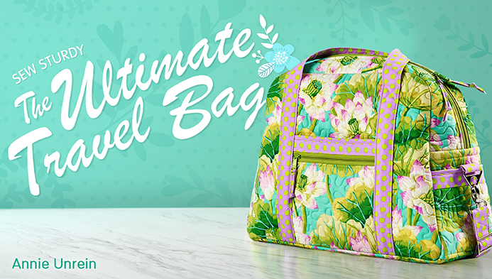This Ultimate Travel bag class on Craftsy is amazing! Annie does an awesome job walking you through every step and make the process so simple to follow