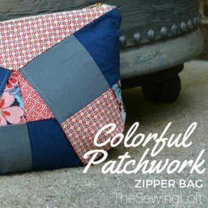 Colorful Patchwork Bag