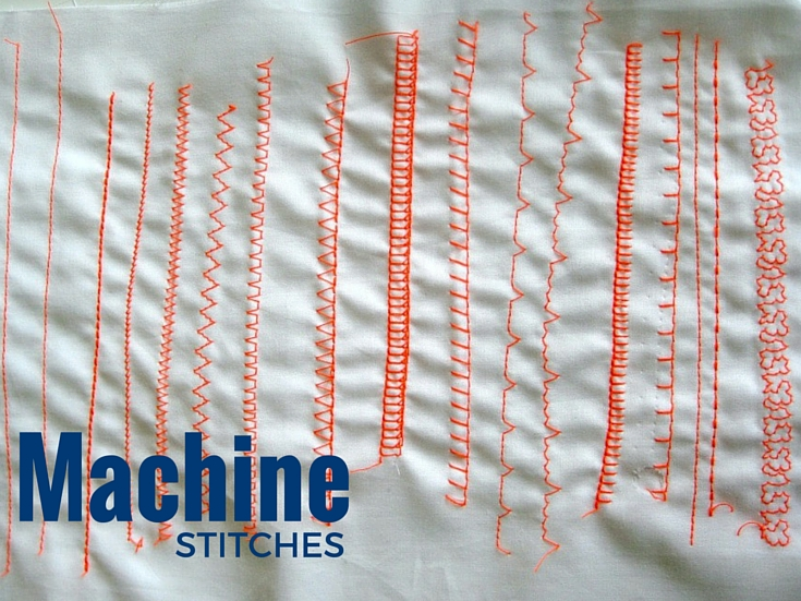 Machine Stitches | Sewing Term - The Sewing Loft