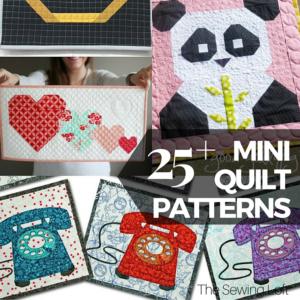 25+ Free Mini Quilt Patterns