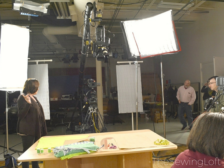 A look behind the scene on an episode of It's Sew Easy. In the 1100 series, Heather Valentine is back with great projects. The Sewing Loft