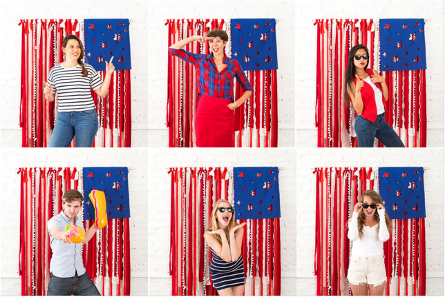 July 4th Photo Booth The Sewing Loft