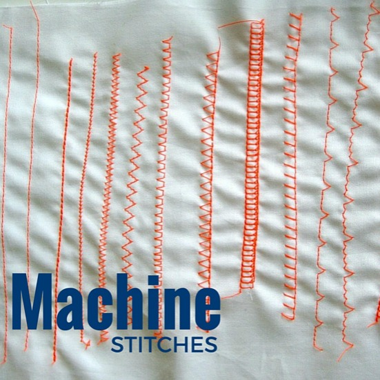 Machine stitches sewing term the loft