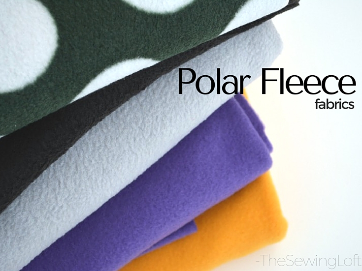 Easy tips for using polar fleece in your sewing projects. This fabric is perfect for garment making and cozy blanket DIY.