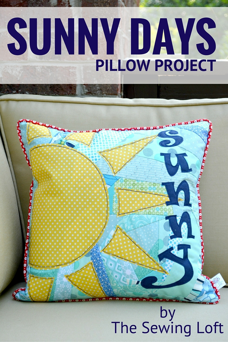 This easy to make DIY pillow pattern is perfect for using up fabric scraps.