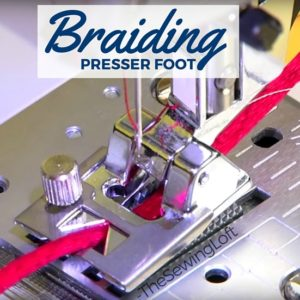 Braiding Foot | Sewing Tool