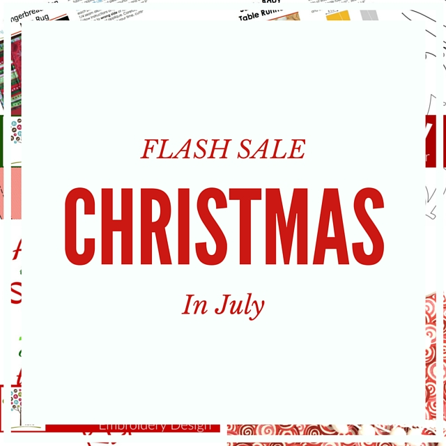 Christmas In July Sale Images.Christmas In July New Pattern Release The Sewing Loft