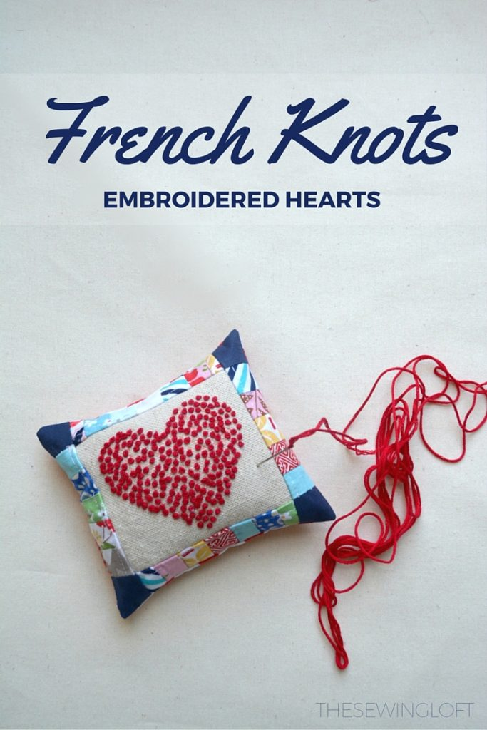 French knots are really much easier to make than you think. Thank goodness for these easy tips.