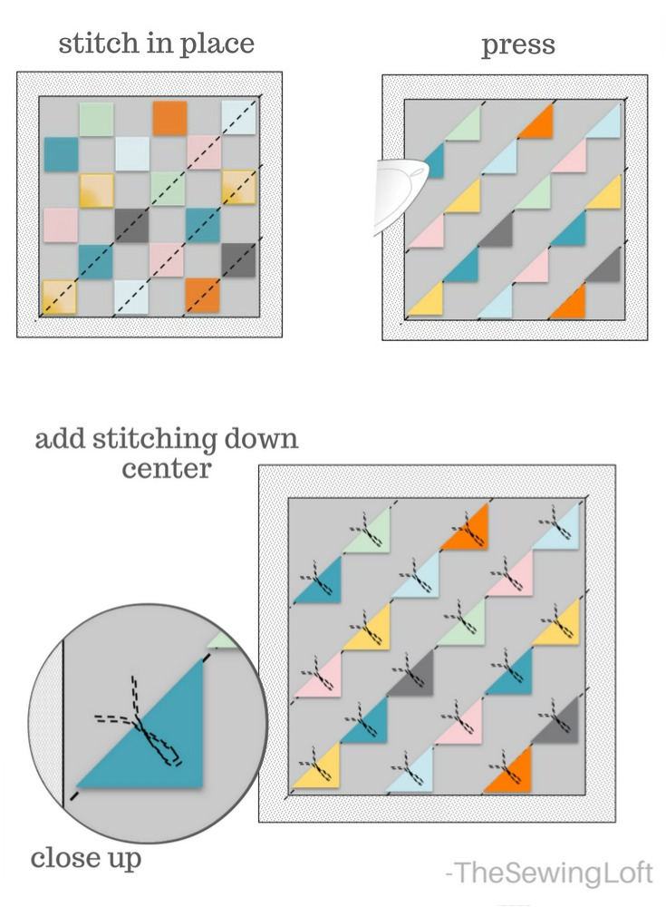 This DIY Butterfly pillow is so easy to make with simple charm squares.