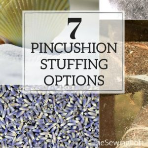 Pincushion Stuffing Options