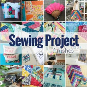 2016 Sewing Project Finishes + National Sewing Month