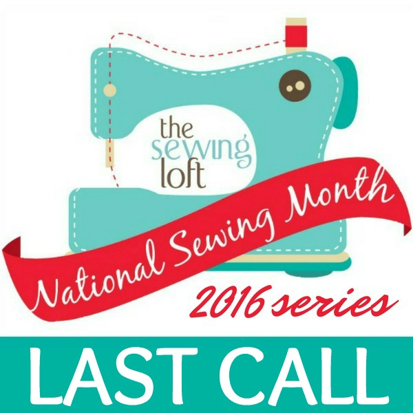 Enter your projects today in the National Sewing Month Show & Tell Giveaway to win amazing prizes.