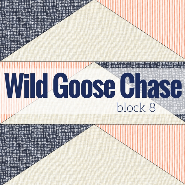Block 8 Wild Goose Chase | Starry Night BOM - The Sewing Loft
