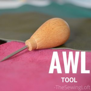 Awl | Sewing Tool for thicker fabrics