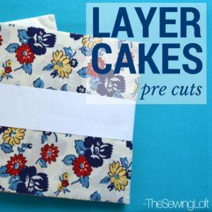 Layer Cake Fabric Bundles   Sewing Term