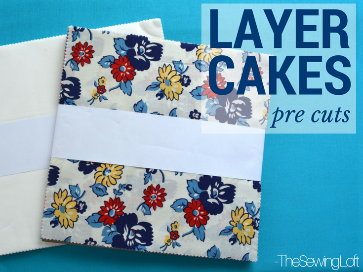 Speed up your sewing when working with pre cut fabric bundles like layer cakes.
