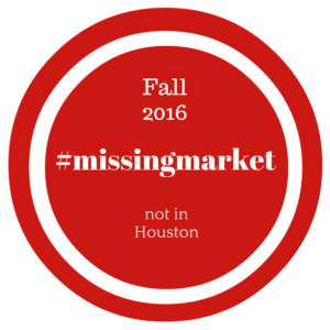 Missing Market Fall 2016