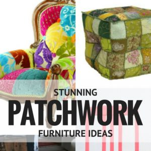 12 Outrageous Patchwork Furniture