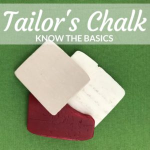 Tailor's Chalk | Sewing Tool for Marking