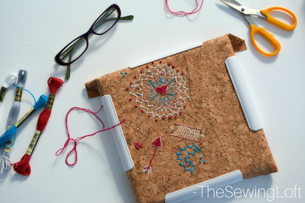 Ever think about using cork fabric to sew on? It's pretty cool especially for zenbroidery.