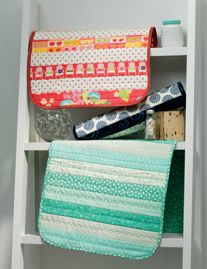 Stitch your quilts together like a pro with these machine quilting tips. Topics include creating a quilt sandwich, thread type and space needed for success.