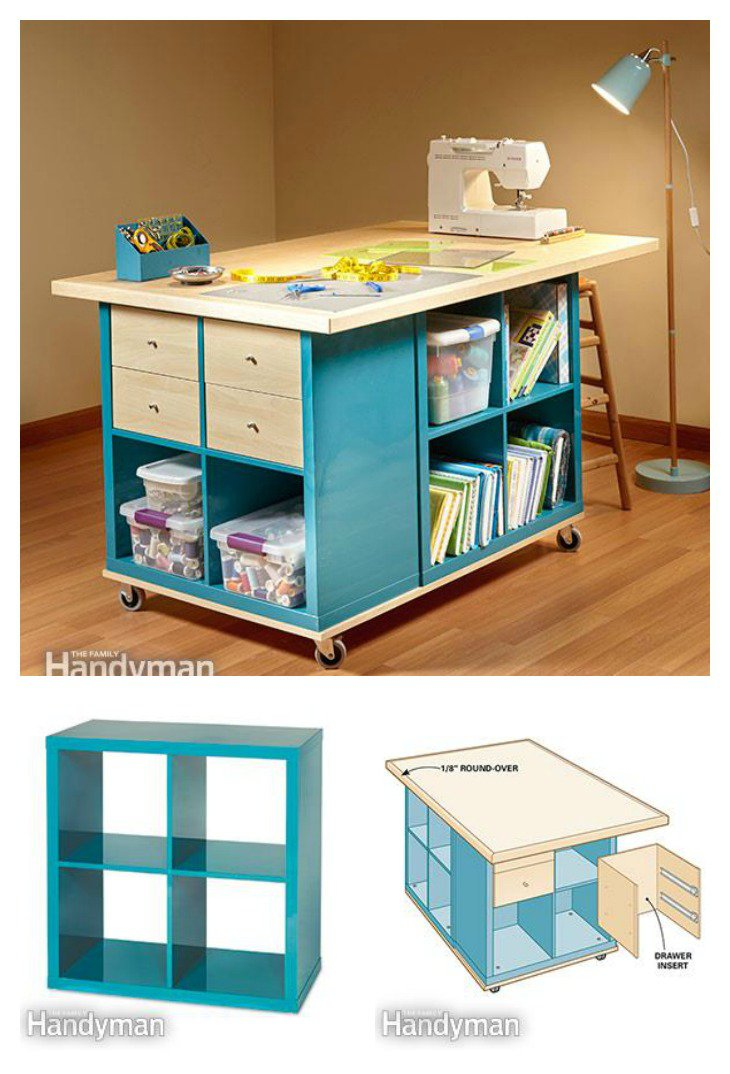 office desk organization by ireland pdx kathy storage wood reviews bush table echo sewing wayfair