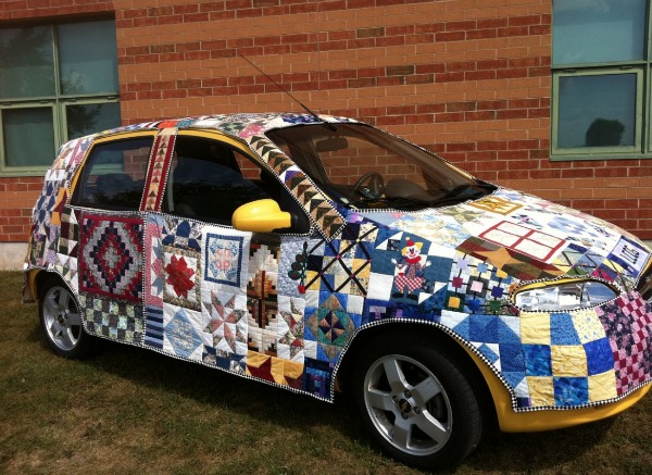 Have you ever thought about making a fabric car cover? See these amazing transformations created from your fabric bin and let your creativity take over.