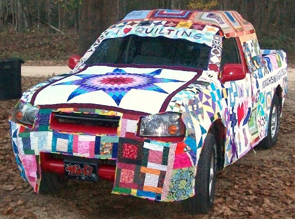 10 amazing crafted fabric car covers. It's so much more than quilting. See these amazing transformations created from your fabric bin and let your creativity take over.