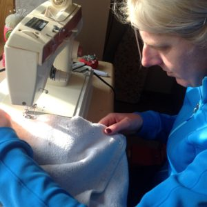 Sewing Left Handed
