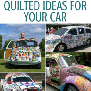Quilt My Ride | Fabric Car Cover