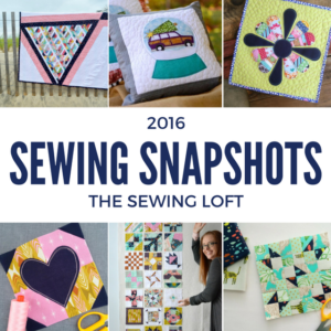 2016 Sewing Highlights on Instagram