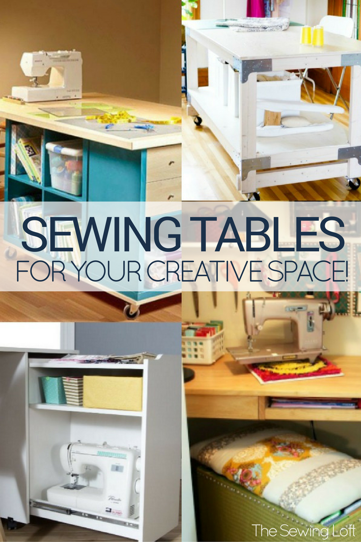 Stay organized and productive with these 15 Amazing Sewing Table Designs made with your creative space in mind.