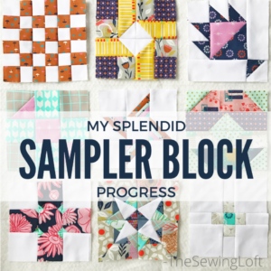Splendid Sampler Block Progress Update
