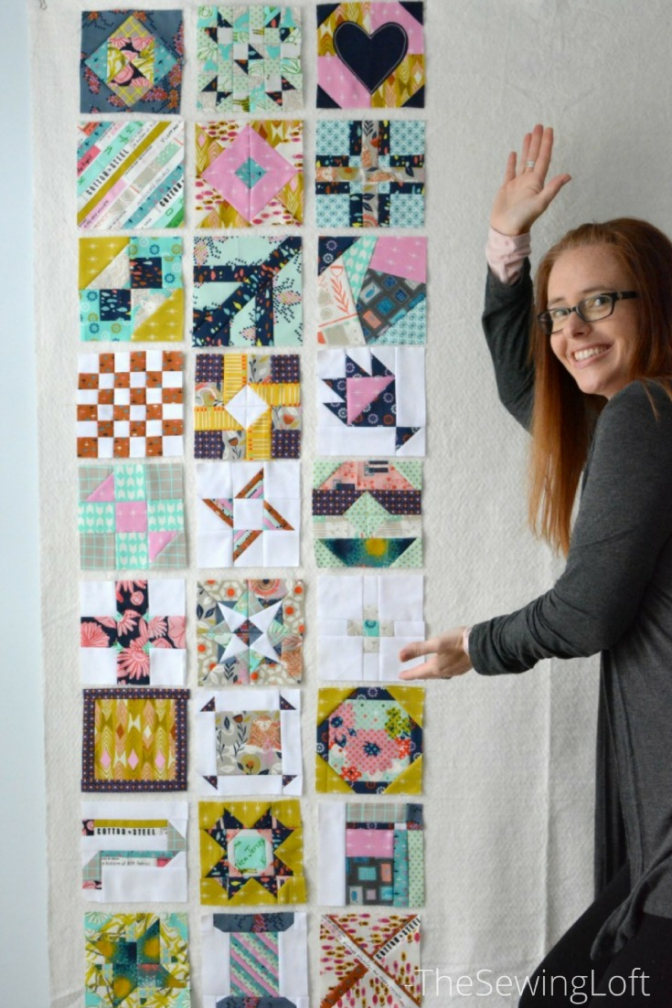 Earlier in the year I started working on the Splendid Sampler Block but feel off the wagon. 27 blocks later, it's game on!! See my progress and join in.