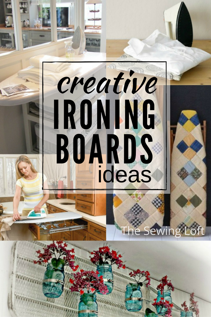 Creative ironing board ideas for your work space the sewing loft - Ironing board solutions for small spaces ideas ...