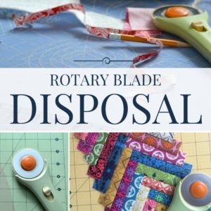 Creative Uses and Disposal of Dull Rotary Blades