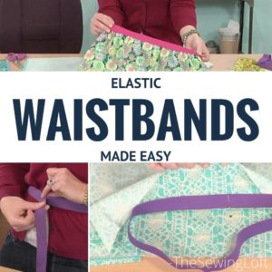 How to Install an Elastic Waistband