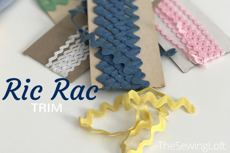 Sewing Trim comes in all different shapes and sizes. Some of these ornamental decorations are ribbon, ruffles, buttons, ric rac, lace, fringe, cording, etc.