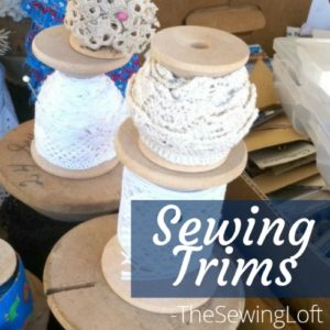 Sewing Trim the Perfect Sewing Notion