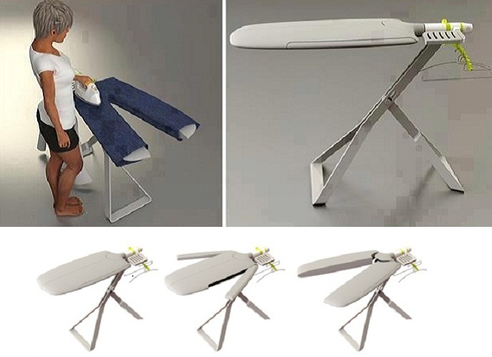 These creative ironing board ideas are perfect for utilizing every last inch of space in your work area.