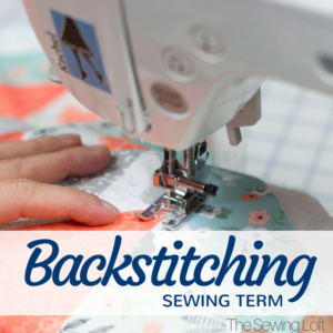 Backstitching Basics | Sewing Term