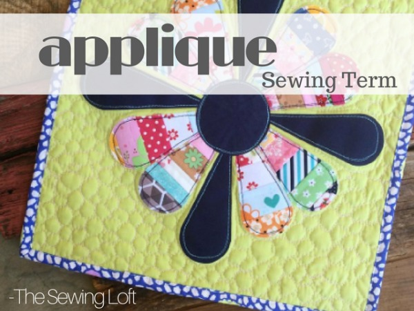 Add embellishments to any sewing project with the help of an applique detail. Learn the basics.