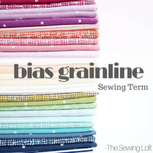 Bias Grainline Basics | Sewing Term