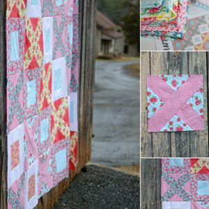 Dainty Darling Fabric Line | Breeze By in Progress
